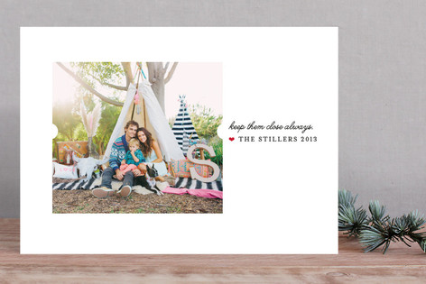 Keep Them Close Holiday Photo Cards