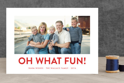Southern Accent Holiday Photo Cards