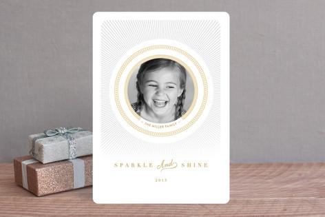 Radiant Shine Holiday Photo Cards