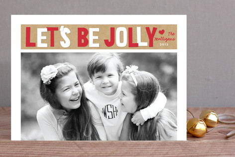 Oh So Jolly Holiday Photo Cards