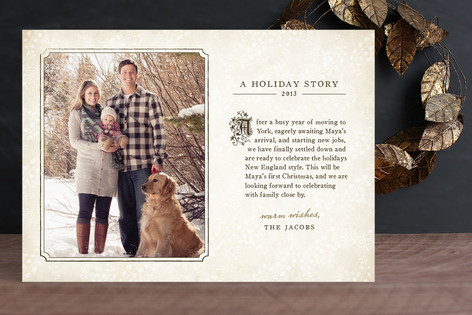 Storybook Holiday Holiday Photo Cards