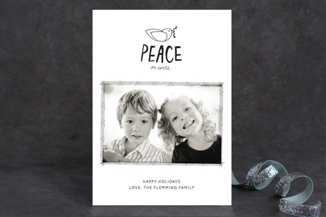 The Little Dove Holiday Photo Cards