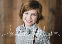 Holiday Revelry Holiday Photo Cards By Design Lotus