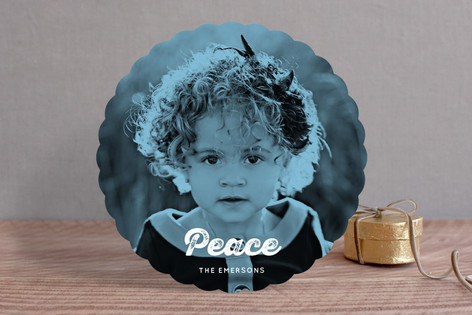 Worn Peace Holiday Photo Cards