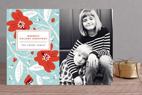 Modern Storybook Holiday Photo Cards