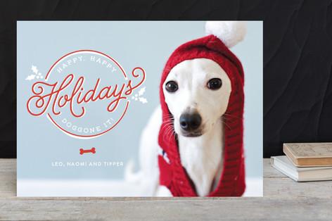 Doggone It Holiday Photo Cards