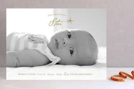 Brightest Star Holiday Photo Cards