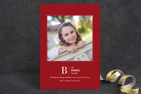 Beauty in Bold Holiday Photo Cards
