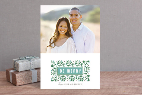 Merry Berries Holiday Photo Cards