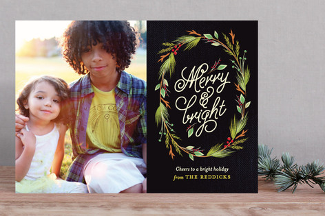 Currant & Juniper Holiday Photo Cards