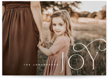 This is a white holiday photo card by Kristie Kern called Adorn with standard printing on smooth signature in standard.