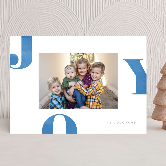 Letters of Joy Holiday Card