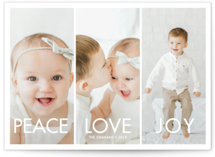 More the Merrier Holiday Photo Cards