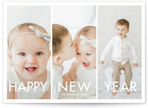 More the Merrier Holiday Photo Cards By chica design