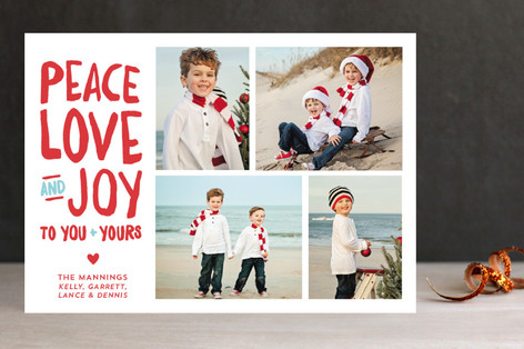 Noteworthy Holiday Holiday Photo Cards