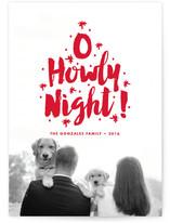 O Howly Night Holiday Photo Cards