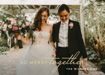 So Merry Together Holiday Photo Cards By Hooray Creative