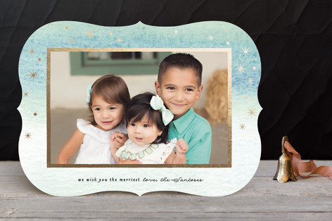 Perfect Light Holiday Photo Cards