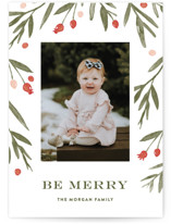 Winter Harvest Holiday Photo Cards By Oscar & Emma