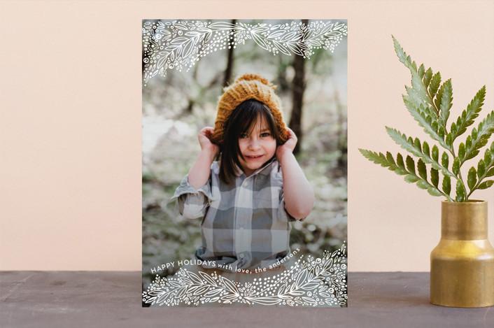 """snowlike"" - Holiday Photo Cards in Snow by Phrosne Ras."