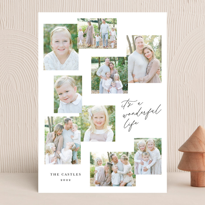 """""""Snapshots"""" - Holiday Photo Cards in Wonderful by Erin German."""