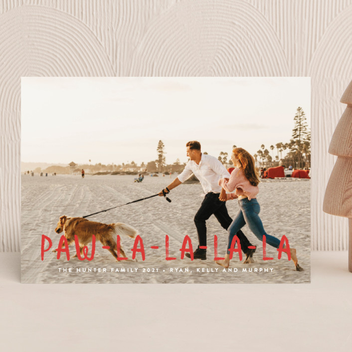 Paw La La Holiday Cards