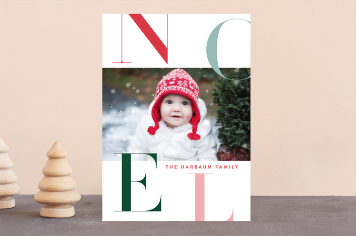 """Citrus"" - Holiday Photo Cards in Mint by Carrie ONeal."