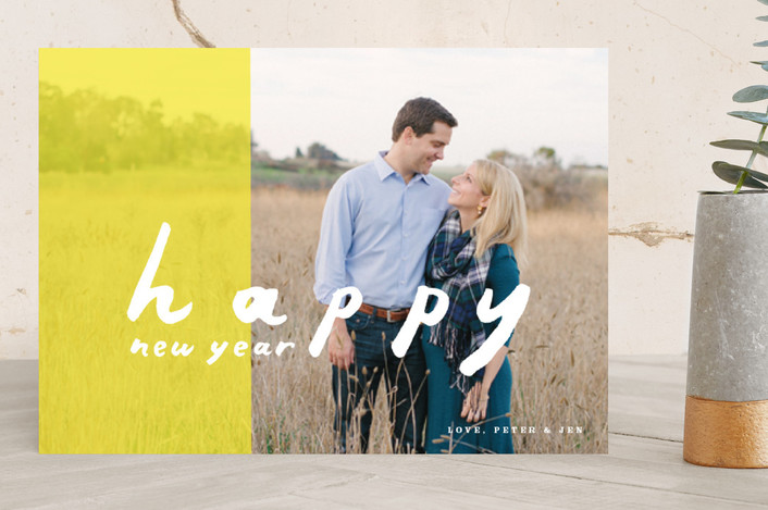 """""""Sunshine Dip"""" - Holiday Photo Cards in Bright Sunshine by Moglea."""