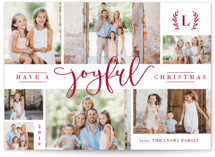 Wonderful Collage Holiday Photo Cards By Melanie Severin