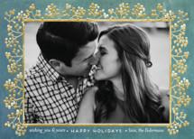 winterberry filigree Holiday Photo Cards By shoshin studio