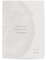 This is a grey anniversary card by Robin Ott called a hundred years with standard printing on signature in greeting cards.