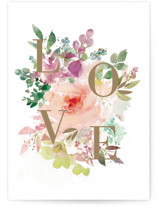 This is a green anniversary card by Lori Wemple called Love with standard printing on signature in greeting cards.