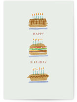 This is a green birthday card by Bethan called All the candles with standard printing on signature in greeting cards.