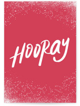 This is a pink congratulations card by chocomocacino called spritz with standard printing on signature in greeting cards.