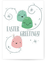 This is a green greeting card by Itsy Belle Studio called I Think You're Sweet with standard printing on signature in greeting cards.