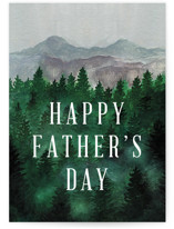 This is a green fathers day card by Elly called Adventure Awaits with standard printing on signature in greeting cards.