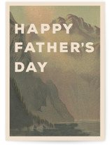 This is a brown fathers day card by Violet and Mae called Adventure with standard printing on signature in greeting cards.