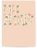 This is a orange birthday cards for her by Lisa Samartino Design called Glowing Garden with standard printing on signature in greeting cards.