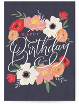 This is a blue birthday cards for her by Erin German called Beautiful Day with standard printing on signature in greeting cards.