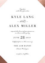 Curator Foil-Pressed Wedding Invitation Petite Cards