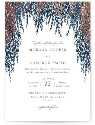 In Love Foil-Pressed Wedding Invitations