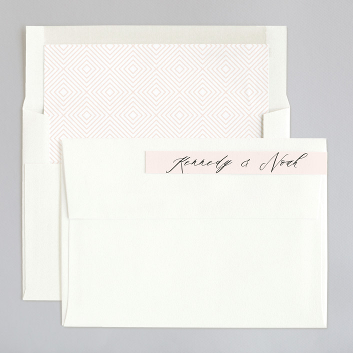 Solaris Foil-Pressed Wedding Invitations By Kristie Kern