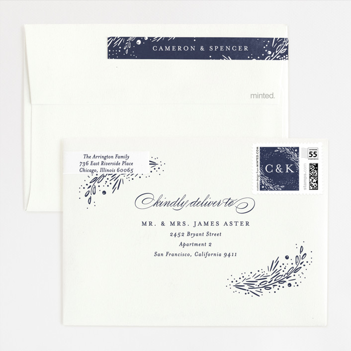 Folio Foil-Pressed Wedding Invitations By Kristie Kern