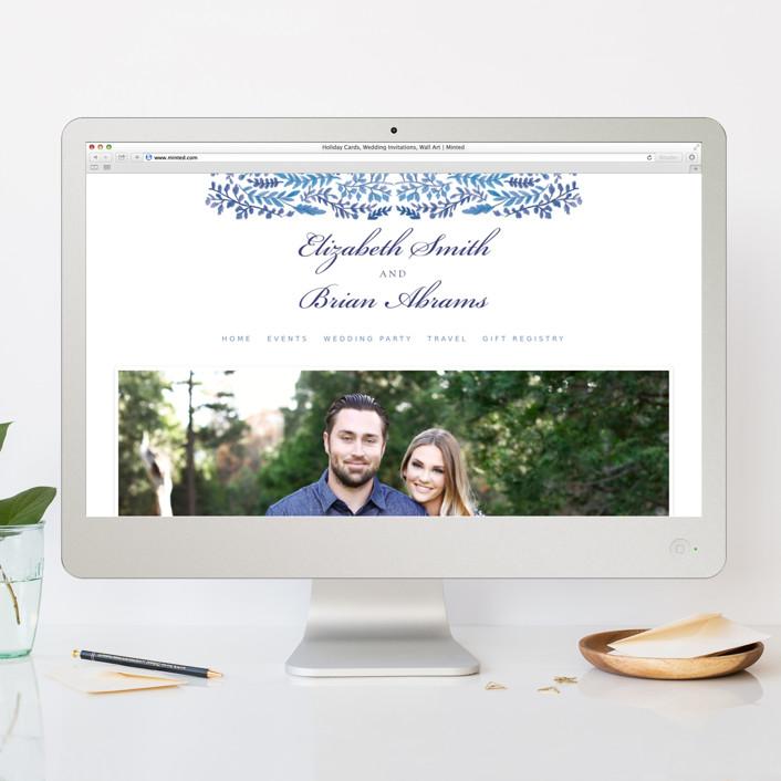 Wedding Invitation Website: China Plate Foil-Pressed Wedding Invitations By Ariel