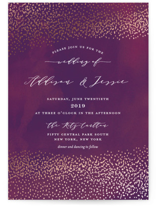 This Love Foil-Pressed Wedding Invitations