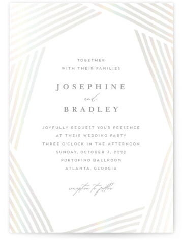 buttercream Gloss Press Wedding Invitations