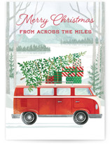 This is a green greeting card by Paper Sun Studio called Big Country with standard printing on signature in greeting cards.