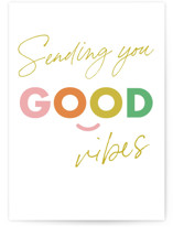 This is a colorful friendship card by Stacey Meacham called Keep smiling with standard printing on signature in greeting cards.