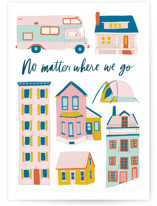 This is a white friendship card by Alicia Schultz called You Are Home with standard printing on signature in greeting cards.