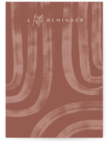 This is a brown friendship card by Creo Study called Little Reminder with standard printing on signature in greeting cards.